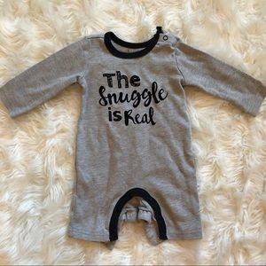 3M Baby Essentials - The Snuggle Is Real Onesie